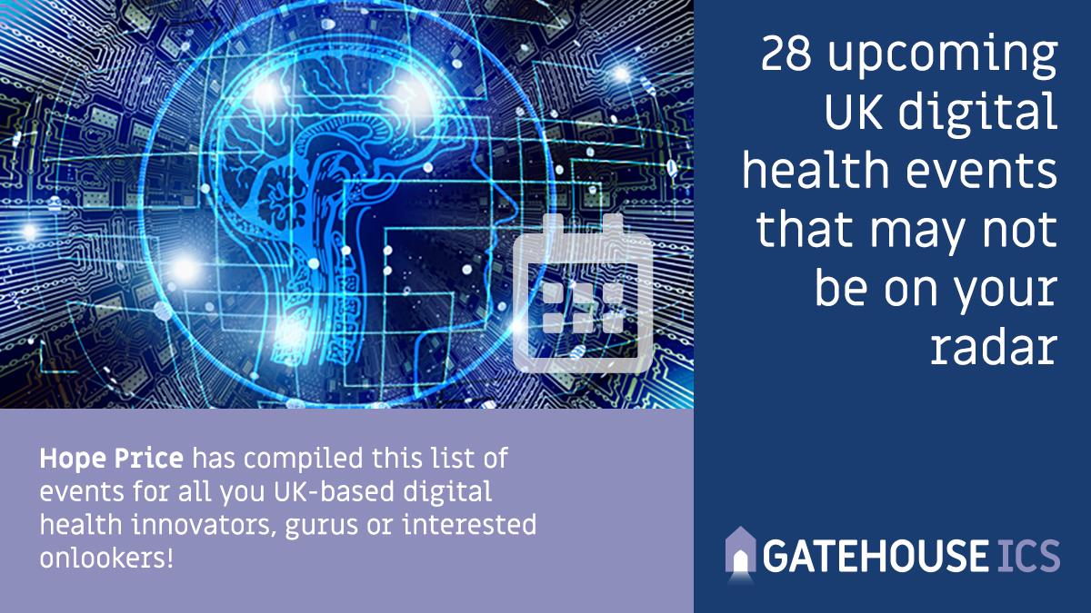 Upcoming UK digital health events